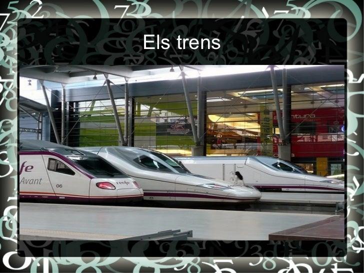 Els trens http://viajemosentren.com/wp-content/uploads/trenes-ave.jpg