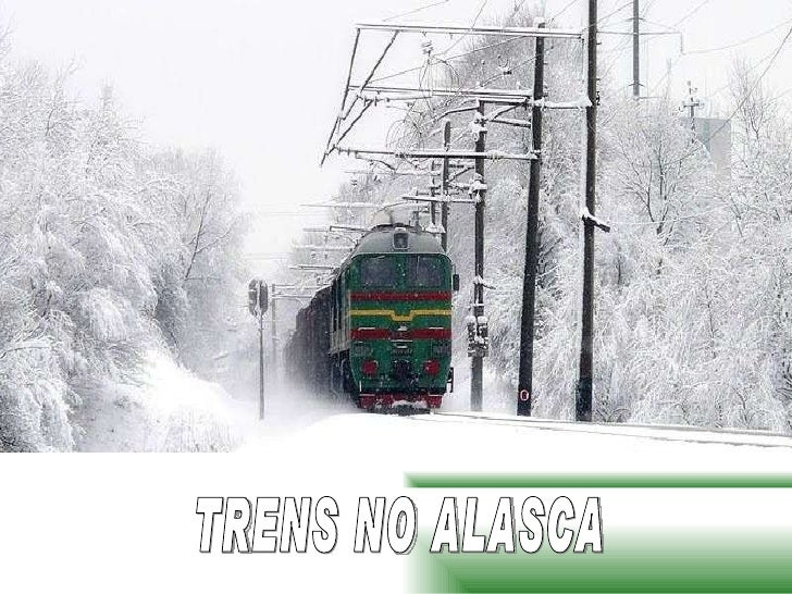 TRENS NO ALASCA