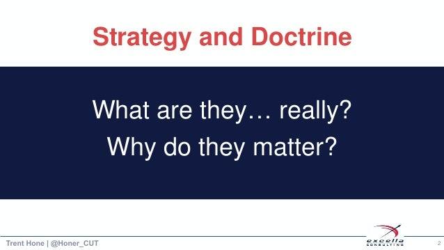 Strategic Agility through Learning Doctrine Slide 3
