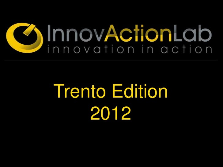 Trento Edition    2012