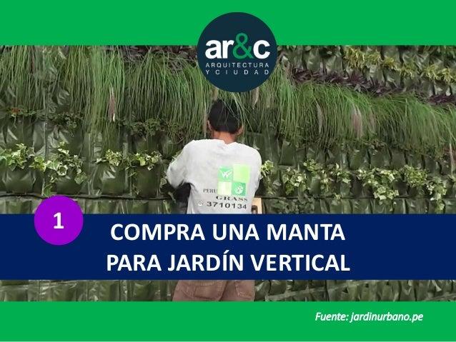 Tres alternativas baratas para un jardin vertical for Manta para jardin vertical