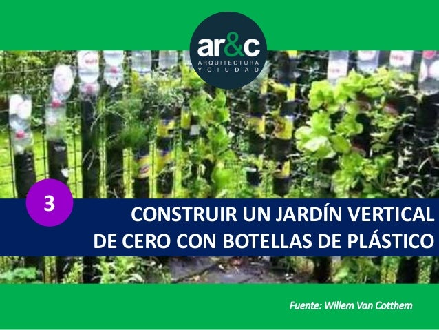 Tres alternativas baratas para un jardin vertical - Construir jardin vertical ...