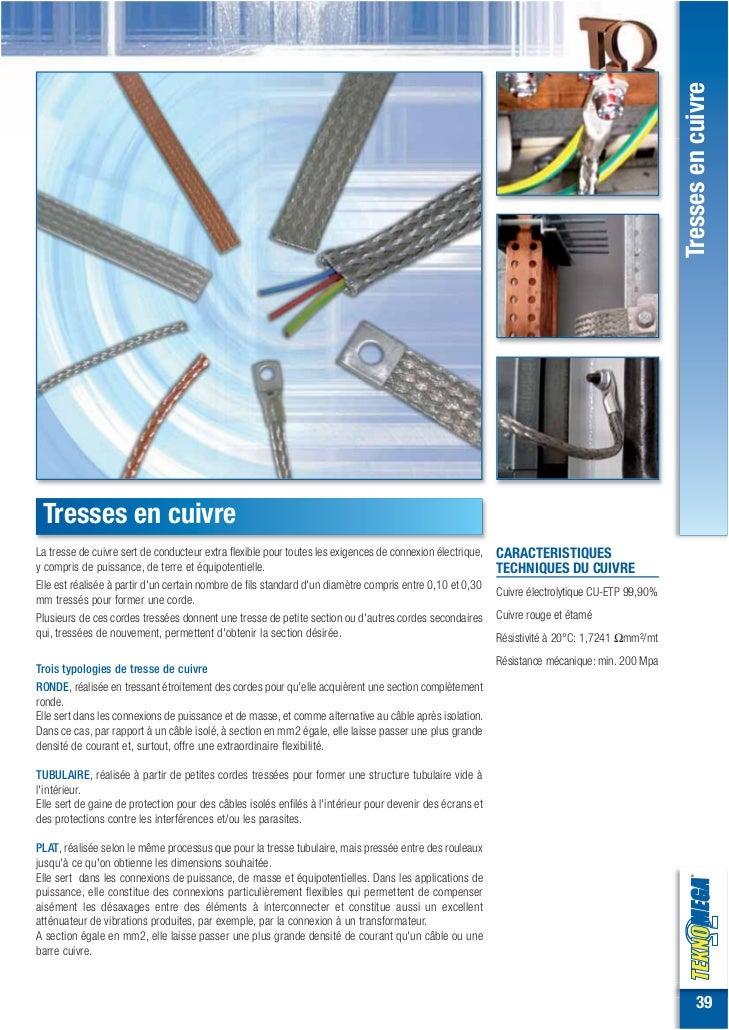 Tresses en cuivre Tresses en cuivreLa tresse de cuivre sert de conducteur extra flexible pour toutes les exigences de conn...