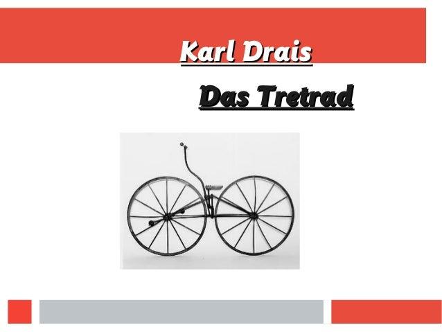 Karl DraisKarl Drais Das TretradDas Tretrad