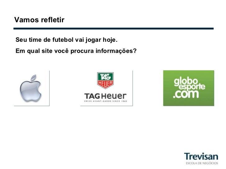 Vamos refletir Seu time de futebol vai jogar hoje.  Em qual site você procura informações?