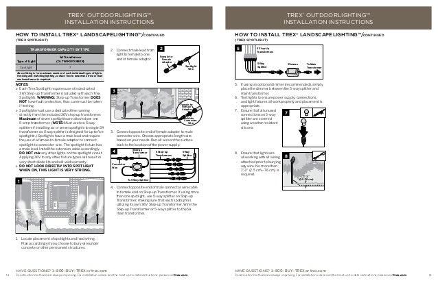 Installation guide 4 trex.