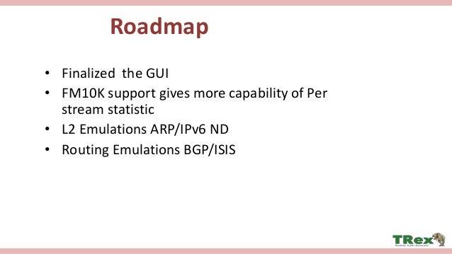 TRex Realistic Traffic Generator - Stateless support