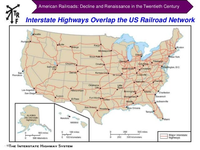 TRF Atlanta Presentation On American Railroads - Us railroad map 2015
