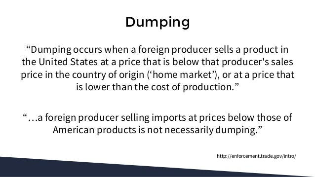 Learn The Basics Of Antidumping And Countervailing Duties
