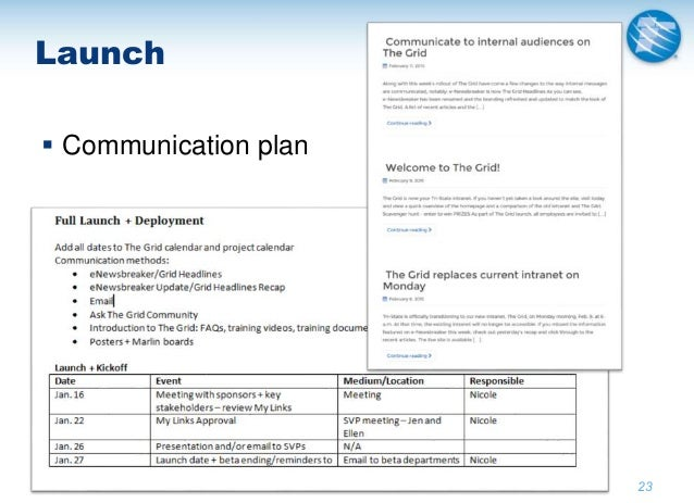 Case Study - Creating a Strategic Communications Plan to ...