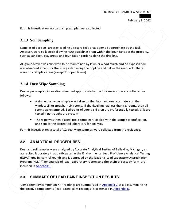 Tri Tech Sample Lbp Ra Report