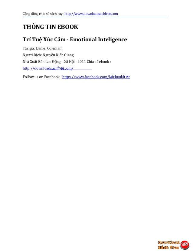 emotional intelligence daniel goleman ebook pdf free download