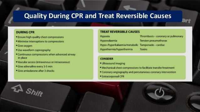 Free PowerPoint Templates Quality During CPR and Treat Reversible Causes
