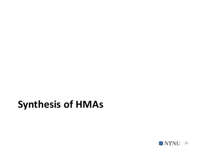 Synthesis of HMAs 28