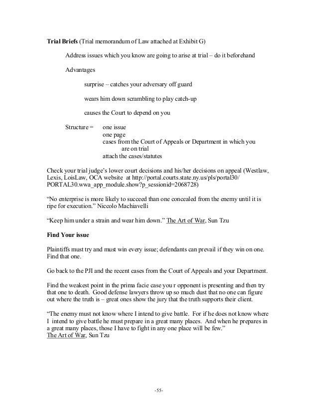 Memorandum Case Study Essay Sample