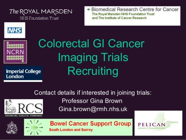 Colon And Rectal Cancer Trials Open To Recruitment