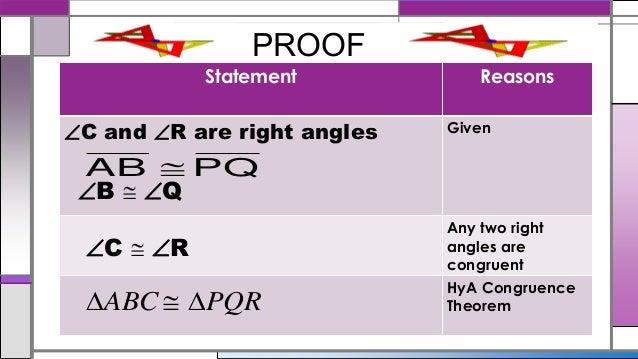 Triangle congruence  (Group 1) Grade 8