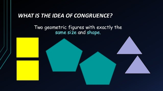 Triangle Congruence (Introduction) Slide 3