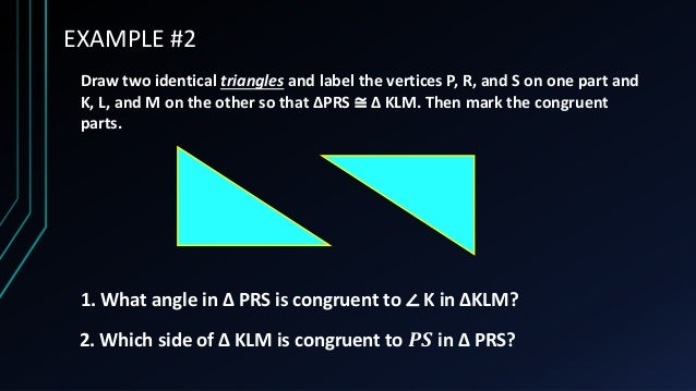 Triangle Congruence (Introduction)