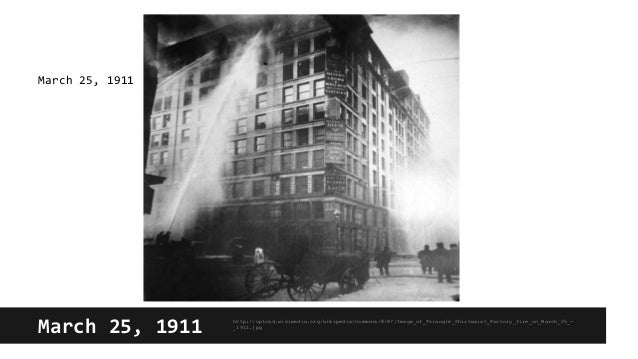 triangle the fire that changed america thesis Get this from a library triangle : the fire that changed america [david von drehle] -- describes the 1911 fire that destroyed the triangle shirtwaist factory in new york's greenwich village, the deaths of 146 workers in the fire, and the implications of the catastrophe for.