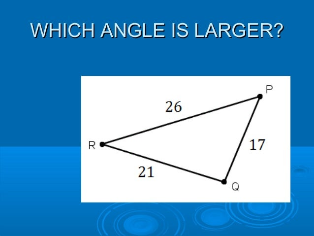 how to solve triangle inequalities