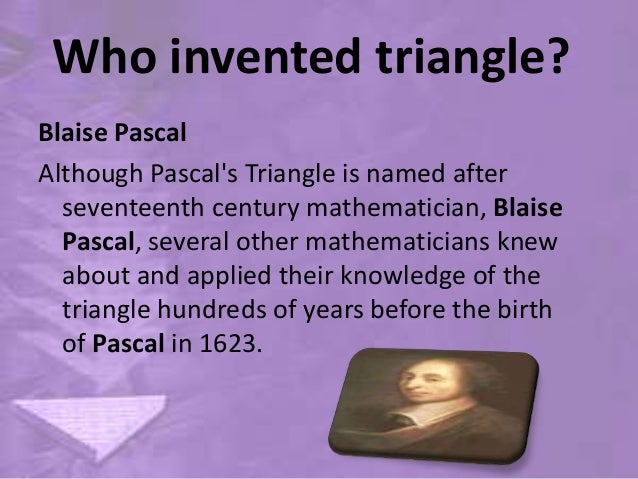 Image result for who invented triangles