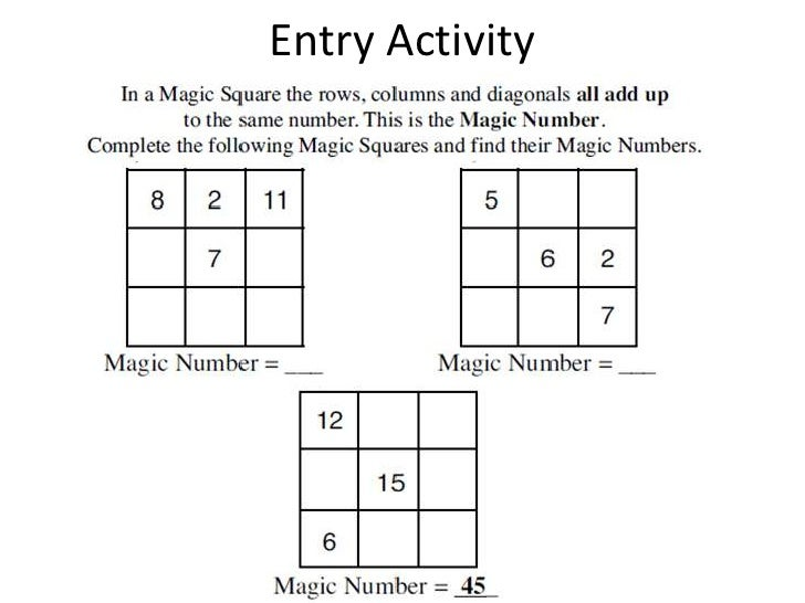 Entry Activity