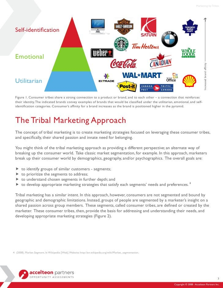 Marketing by Tribes      Self-identification     Emotional                                                                ...