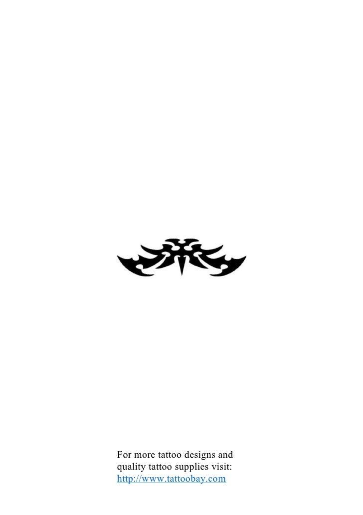 Tribal Tattoo Designs Book