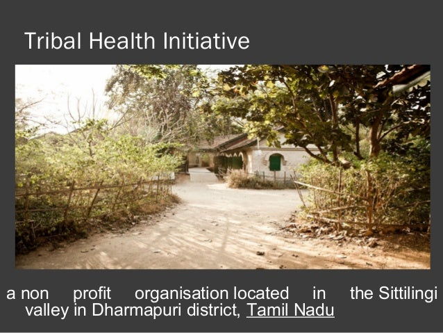 Research papers on tribal health in india