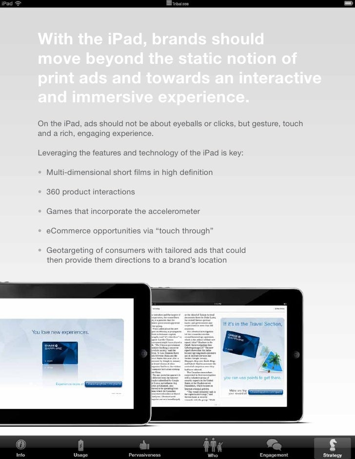 Should your brand consider an iPad application?