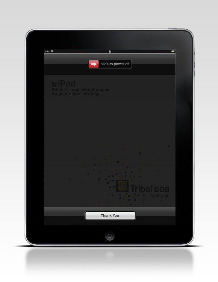 Tribal DDB iPad Briefing