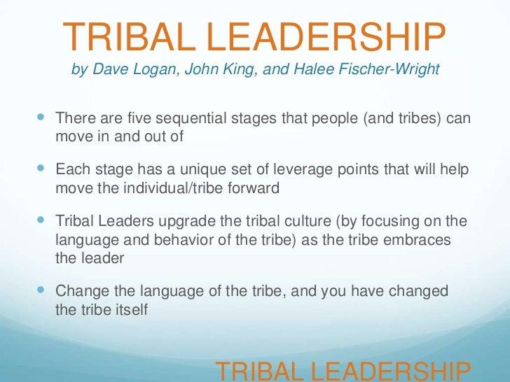 tribal leadership slideshare