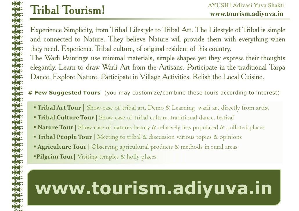 AYUSH | Adivasi Yuva ShaktiTribal Tourism!                                                        www.tourism.adiyuva.inEx...