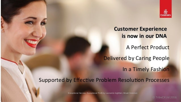 Customer  Experience     is  now  in  our  DNA   A  Perfect  Product   Delivered  by  Caring  ...