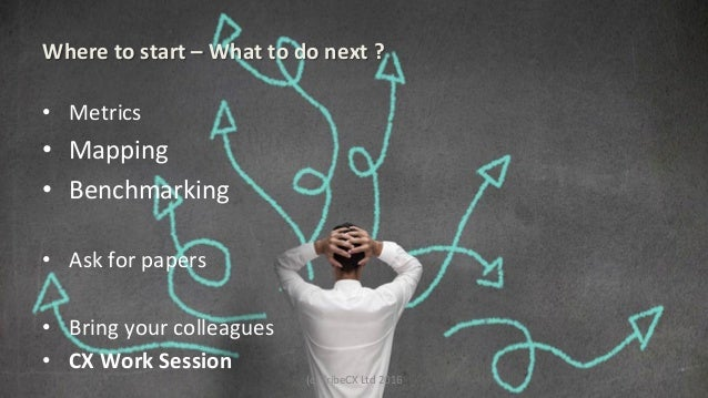 Where  to  start  –  What  to  do  next  ?   • Metrics   • Mapping     • Benchmarking   • As...