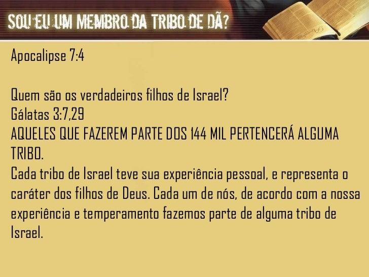 A TRIBO DE DÃ Slide 2