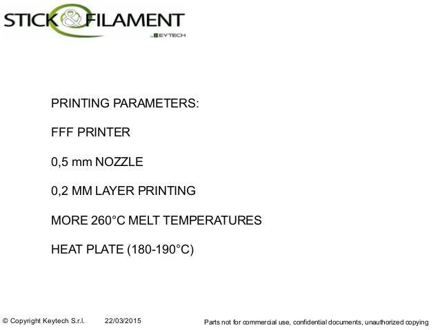 triboPA 3D Printing Filament Slide 3