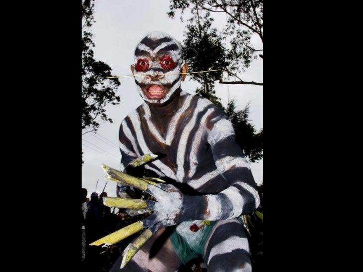 Tribos da Papua Nova Guiné