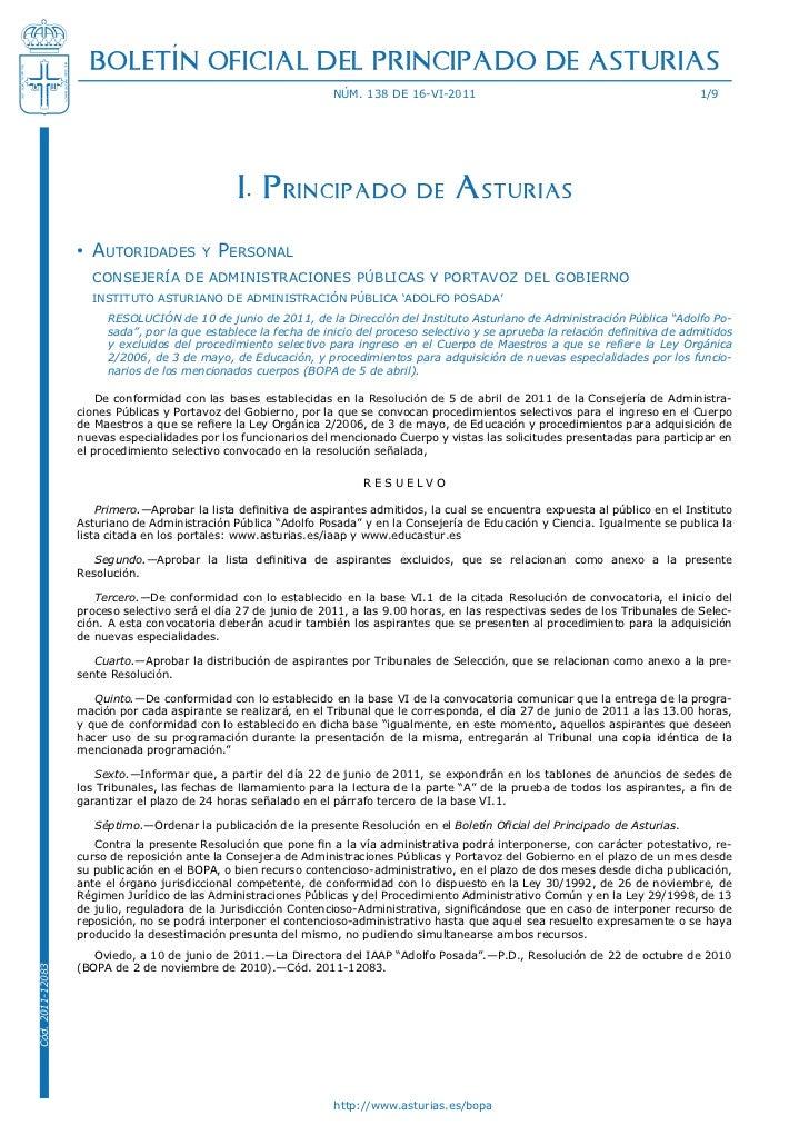 BOLETÍN OFICIAL DEL PRINCIPADO DE ASTURIAS                                                                 núm. 138 de 16-...