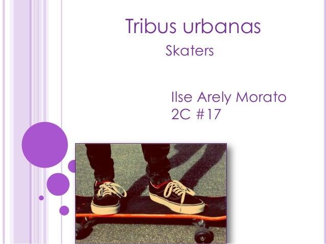 Tribus urbanasSkatersIlse Arely Morato2C #17