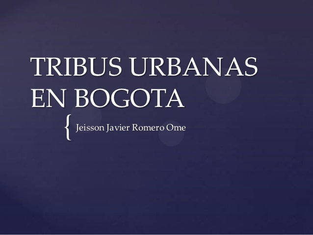 TRIBUS URBANASEN BOGOTA  {   Jeisson Javier Romero Ome
