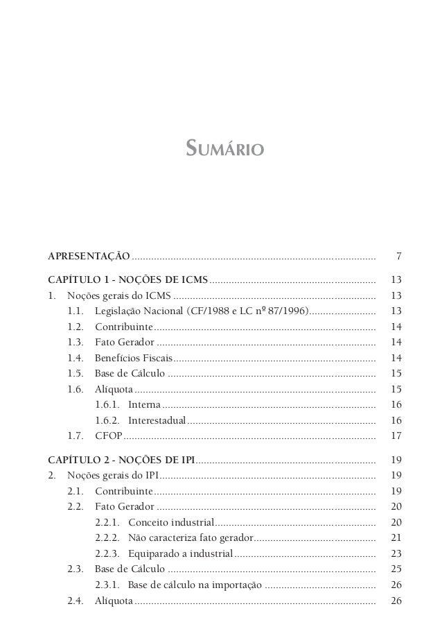 Tributação nas principais operações fiscais prévia conteúdo Slide 2