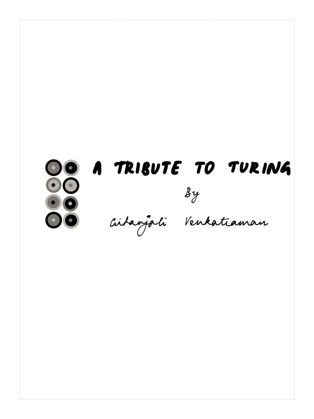 A Tribute to Turing
