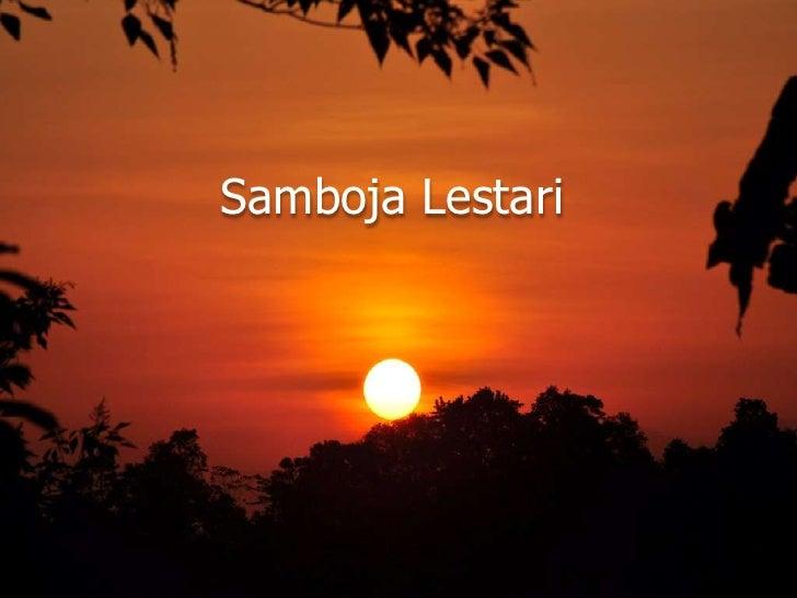 Samboja Lestari<br />