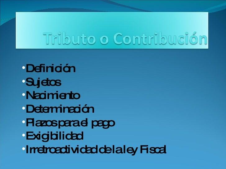 <ul><li>Definición </li></ul><ul><li>Sujetos </li></ul><ul><li>Nacimiento </li></ul><ul><li>Determinación </li></ul><ul><l...