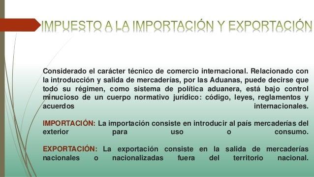 Tributos aduaneros1 for Salida de la oficina internacional de origen