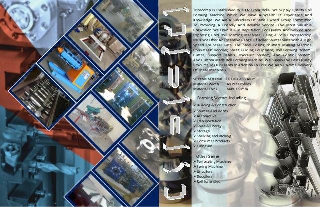 Tricecomp Cetalog Slide 2