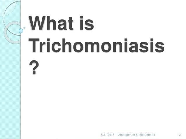 trichomoniasis, Human body