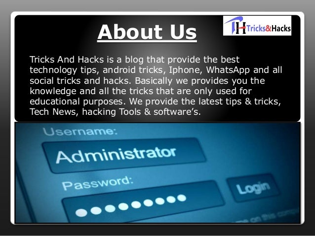 Latest Hacking Tricks 2018 - Tricks and hacks